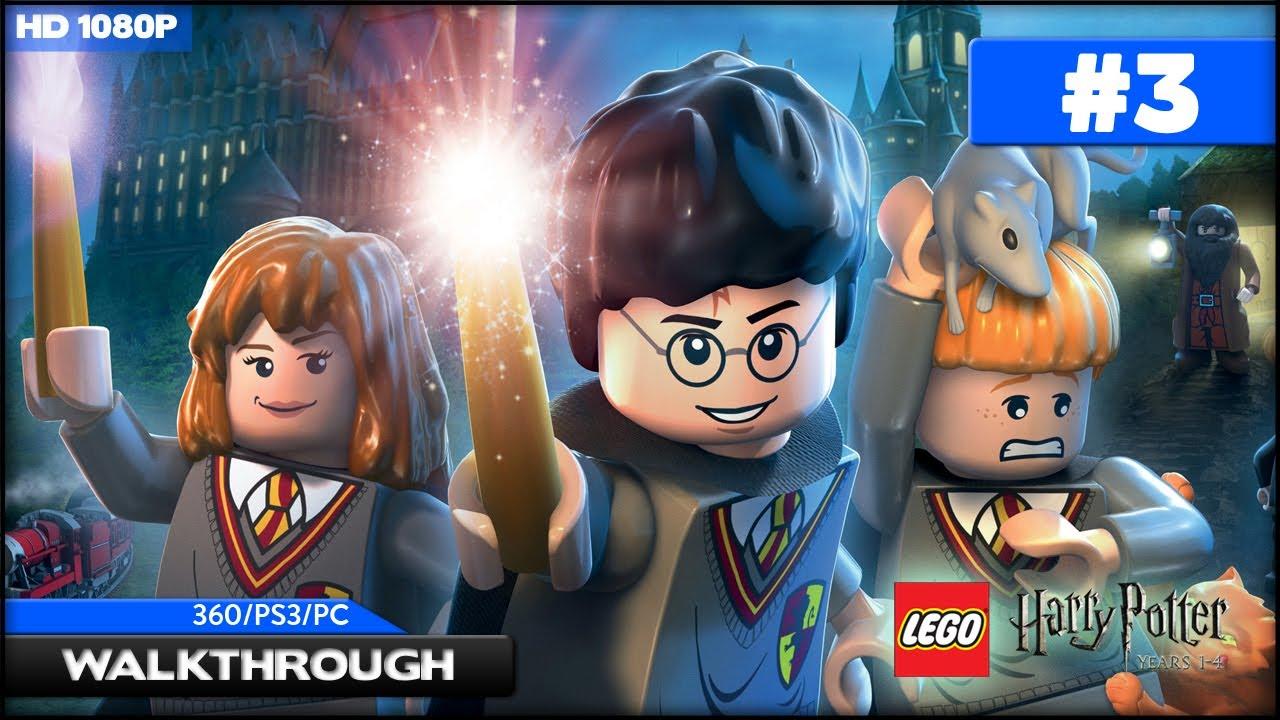 Lego Harry Potter Years 1-4 Walkthrough - Bathroom Troll ...