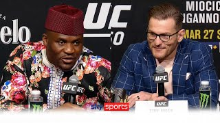 'This time things will be different' | Stipe Miocic vs Francis Ngannou 2 | Presser best bits