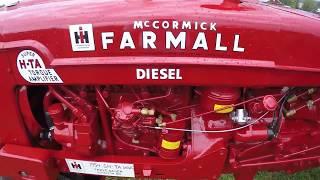 "Farmall H Tractor Custom Build - ""Super H-TA Diesel"""