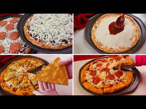 صورة  طريقة عمل البيتزا أبهري عائلتك بأروع بيتزا أطيب من المطاعم مع خطوات ستجعل أطراف البيتزا ألذ وأجمل طريقة عمل البيتزا من يوتيوب