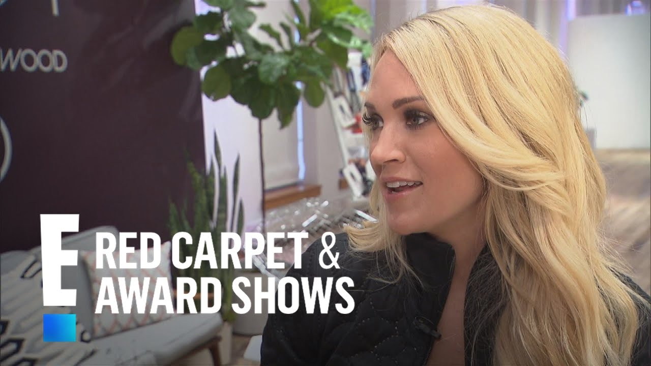 Carrie Underwood Opens Up On Family Motherhood E Red Carpet