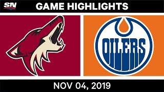 NHL Highlights   Coyotes vs. Oilers – Nov. 4, 2019