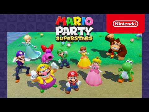 Ny Mario Party Superstars-trailer visar en hel del party Släpps 29 oktober