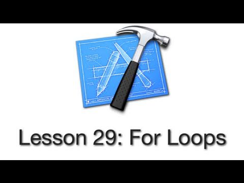 Objective-C Tutorial - Lesson 29: For Loops