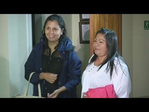 AMAZING story of sisters reuinted 30 years after volcano separated them