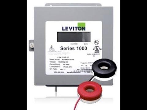 Leviton 1000 RGM Install For Solar Inverter Metering