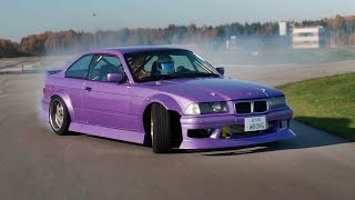 DIESEL DRIFT CAR - BMW E36 330D WRONG36 DRIFTING
