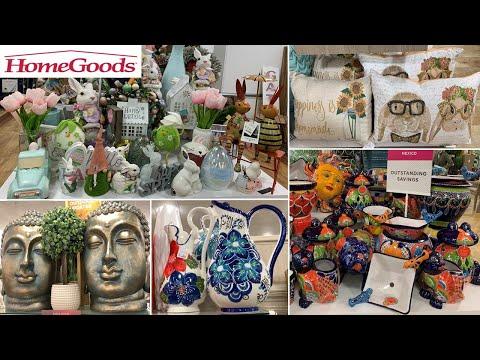 HomeGoods Home Decor * Spring Decor   Shop With Me 2020