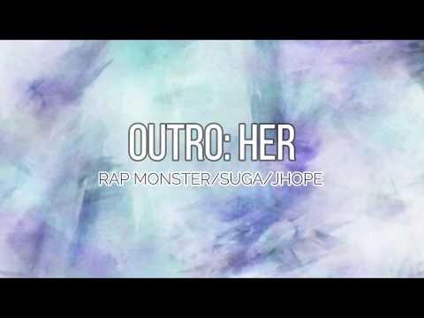BTS (방탄소년단) - Outro: Her [EASY LYRICS]