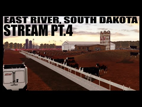 East River, SD Map Stream Pt.4