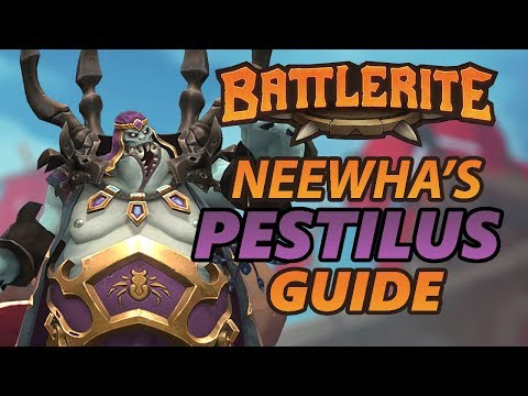 Pestilus Battlerite Guide and Loadout Overview