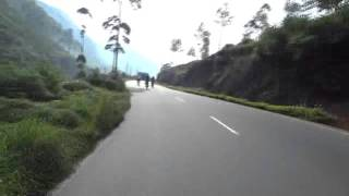 Biking to Kandy