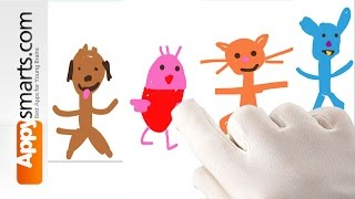 Sago Mini Doodlecast - fun app for kids [iPhone,iPad,iPod Touch]