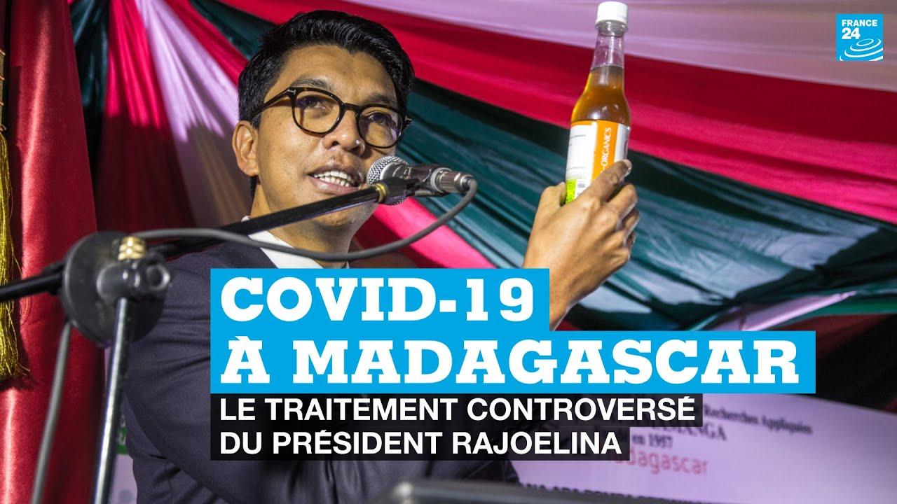 Covid-19 à Madagascar : le traitement controversé du président Rajoelina