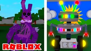 Becoming Twisted Bonnie and Candy Cadet in Roblox Five Nights At Freddy's 2
