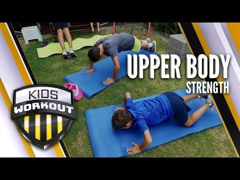 Kids Workout Upper Strength