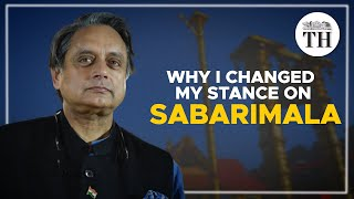 Shashi Tharoor speaks on the #Sabarimala issue
