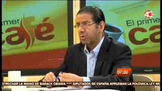 27.03.15 El primer café, Programa de análisis político del Canal Proyecto 40