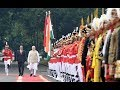 PM Narendra Modi accorded ceremonial welcome in Jakarta