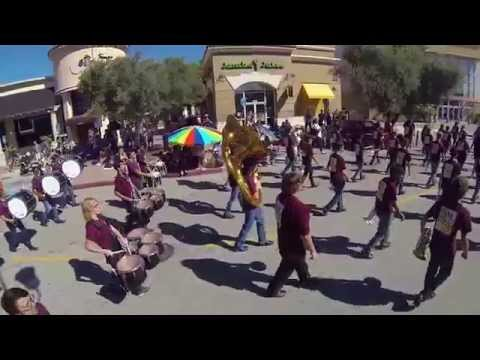 Simi Valley High School Marching Pride - 2015 Simi Valley Parade 04