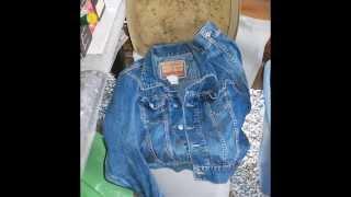 Fetish denim jacket(4b)