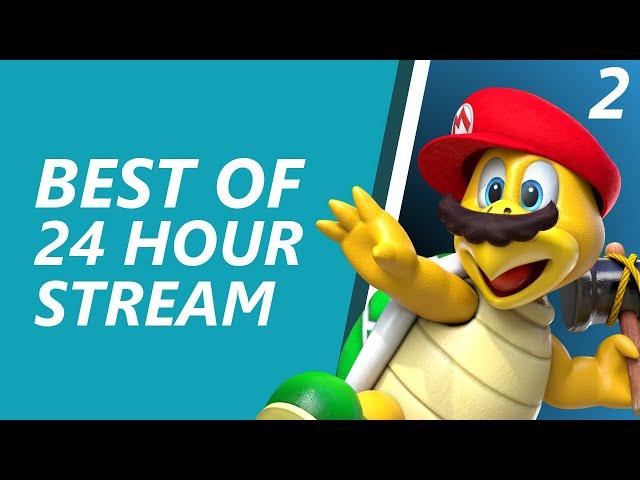 My first 24 hour stream (Part 2) - Samura1man Twitch Highlights