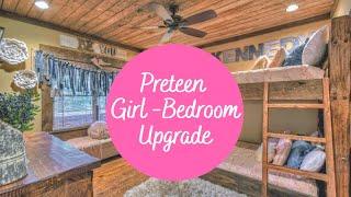 DIY: UPGRADE YOUR PRETEEN/TEENAGE GIRL BEDROOM