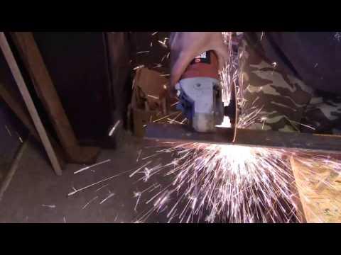 Metal vise DIY