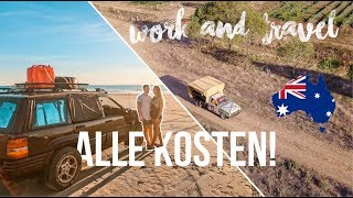 Was kostet 1 JAHR WORK AND TRAVEL Australien? | 1. Jahr Weltreise Kosten