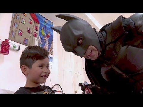 Argentinischer Batman: Held der kranken Kinder