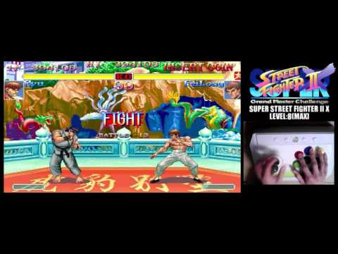 [2/4] SUPER STREET FIGHTER II X(Arcade,JP,LV8,HARDEST)