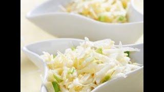 Салат  из репы.