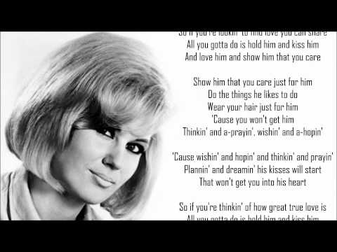 Dusty Springfield *❈* Wishin' And Hopin'