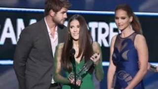 PCA 2012 NINA DOBREV BEST TV DRAMA ACTRESS