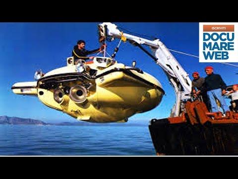 Documentario Jacques Cousteau  - Quelle incredibili macchine sotto marine - La grande avventura del