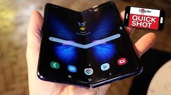Samsung Galaxy Fold im Hands on: Erstes Falt-Handy ausprobiert