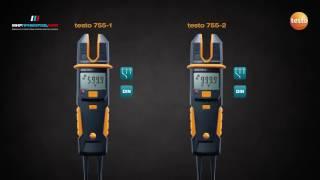 Видеообзор testo 755 Многофункционального тестера напряжения