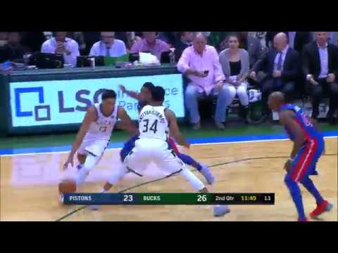 Detroit Pistons vs. Milwaukee Bucks - November 16, 2017