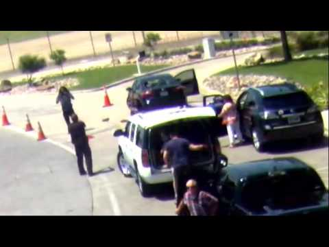 Love Field shooting footage from Dallas police