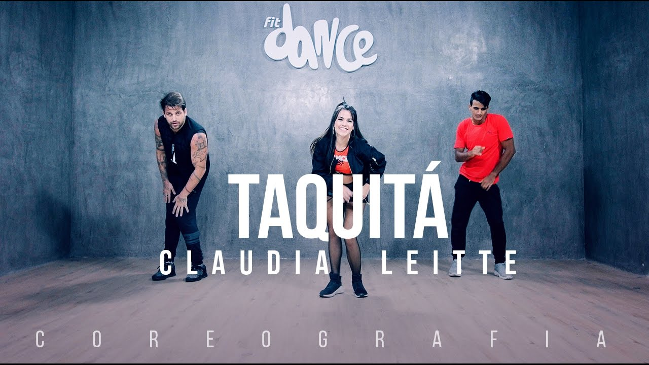 Taquitá - Claudia Leitte - Coreografia |  FitDance TV