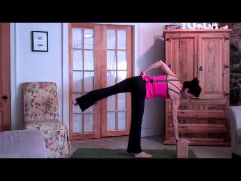 how to do half moon pose  youtube