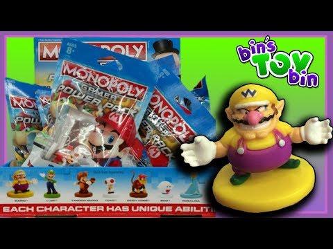 Mario Monopoly Tokens!? | Power Packs Opening