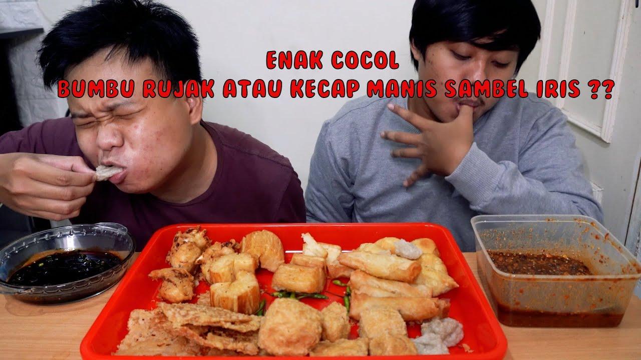 Makan Gorengan Pake Bumbu Rujak Sama Kecap Manis Iris Cabe Hijau Mantull Abiss Youtube