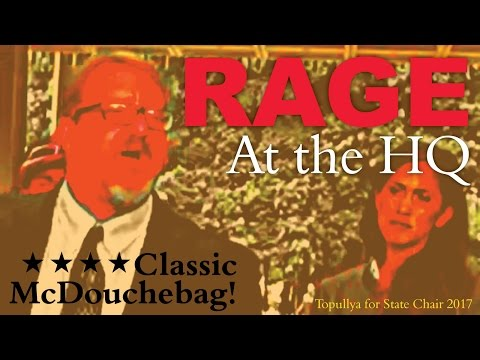 RAGE IN THE HQ:  Bob McDermott
