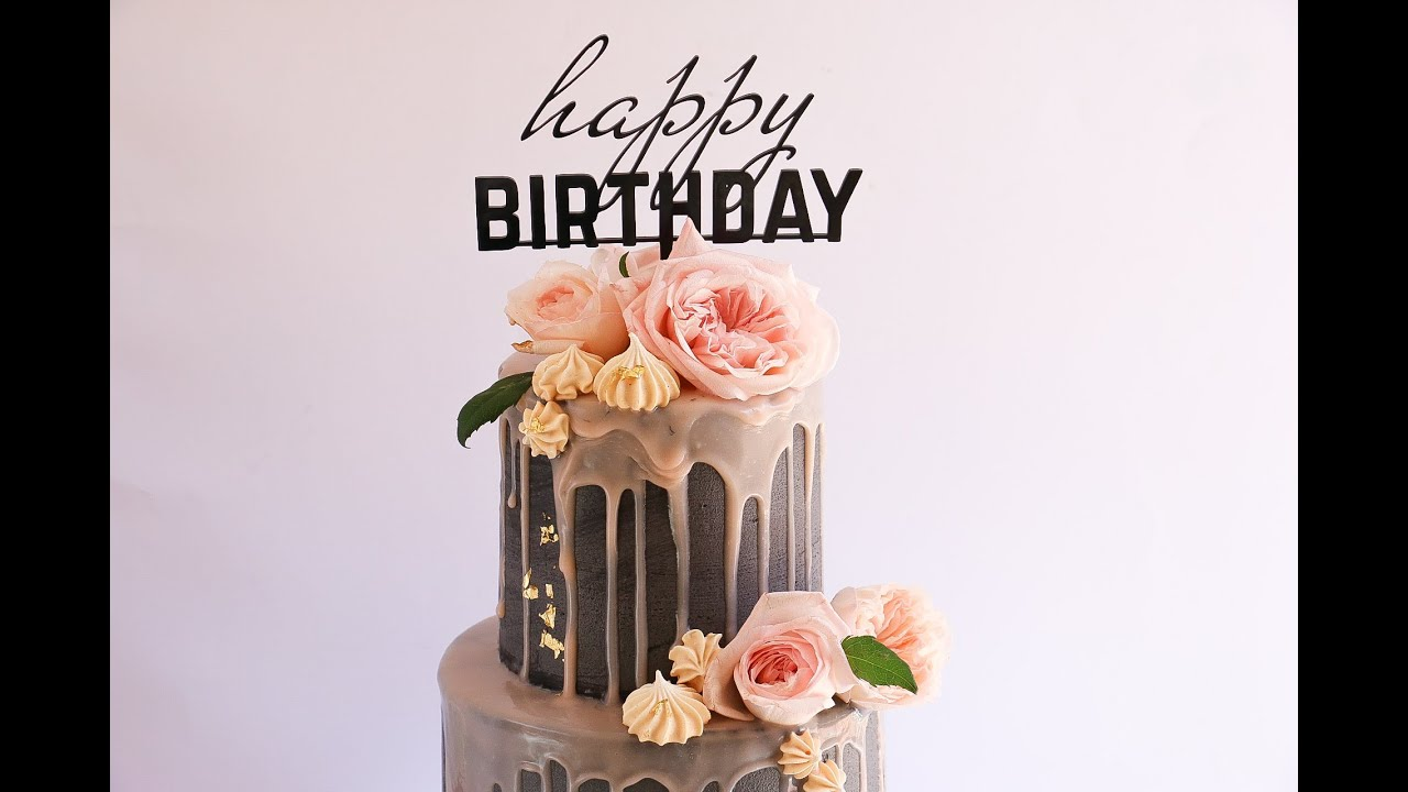 Extra Tall Two Tier Drip Cake Rosie S Dessert Spot Youtube