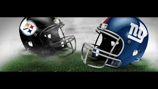 1st Game Online H2H Vs TheWorldsYours16 - Pittsburgh Steelers Vs New York Giants Madden 20 Gameplay