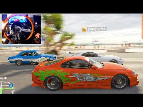 Forza Horizon 3 GoPro Fast And Furious Tribute Online Lobby! | SLAPTrain