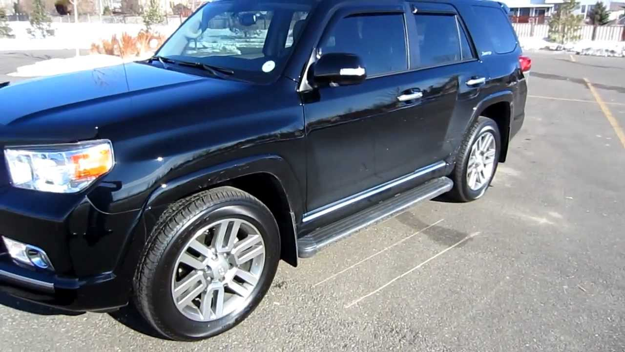 2011 Toyota 4Runner Limited For Sale >> 2011 Toyota 4runner Limited 4x4 A Trac For Sale From Newcarscolorado Com