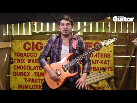 Me And My Guitar interview: Pedram Valiani (Sectioned and Frontierer) on his Ibanez RG7421