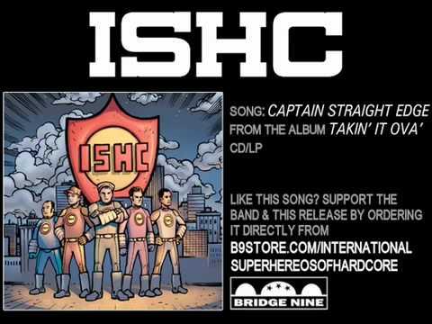 Captain Straight Edge by International Superheroes of Hardcore